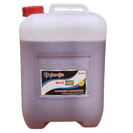 Dung dịch nước rửa xe không chạm BIO 45 Ekokemika 20 lít