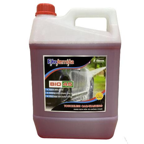 Dung dịch nước rửa xe không chạm BIO 45 Ekokemika 5 lít