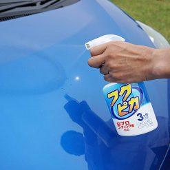 Chai xịt phủ bóng sơn xe ô tô Soft99 Fukupika Spray Advance 400ml