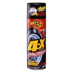 Chai làm sạch và dưỡng bóng lốp xe ô tô Soft99 4-X Tire Cleaner 470ml