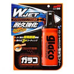 """Chai Xịt Nano Chống Bám Nước Kính Ô Tô Soft99 Glaco """"W"""" Jet Strong 180ml"""