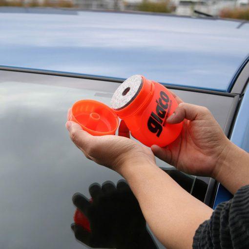 Phủ nano kính xe ô tô Soft99 Glaco Roll On Large 120ml